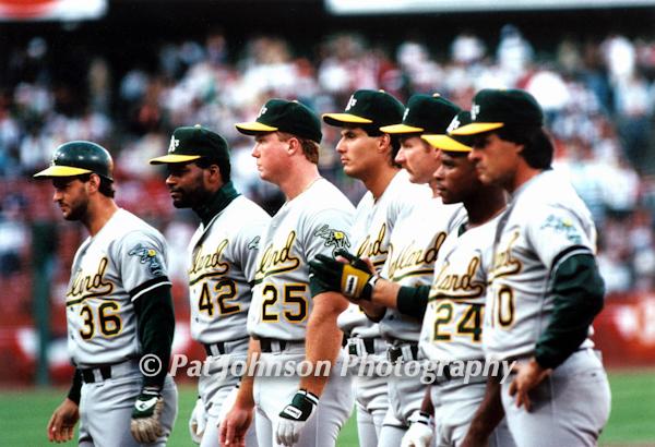 Oakland A's. WOrld Series, 1989