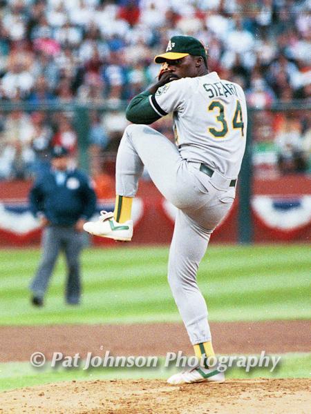 Dave Stewart, Oakland A's, World Series 1989