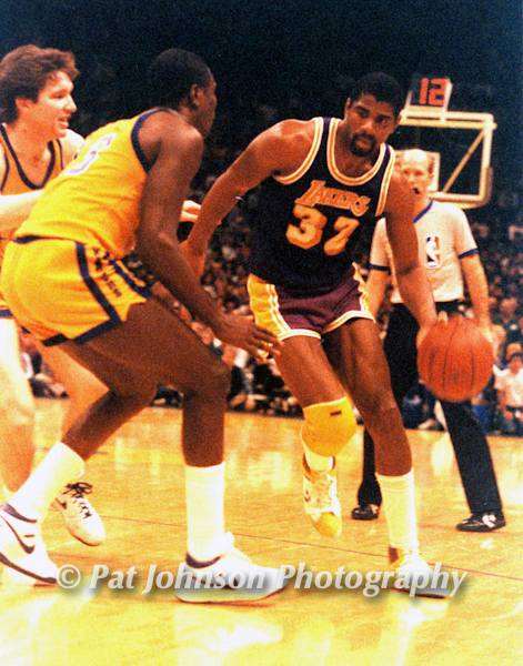 Magic Johnson, Lakers
